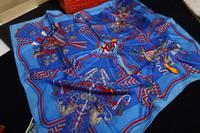 Silk Desigual Scarf Women Brand Print Scarves Winter 2014 Shawl Foulard Bufandas Designer Cachecol Feminino 90x90CM SF0278