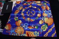 Silk Desigual Scarf Women Brand Print Scarves Winter 2014 Shawl Foulard Bufandas Designer Cachecol Feminino 90x90CM SF0279