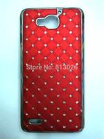 10 Colors New bling shining stars Chrome Rhinestone High quality Skin Hard Cover Case for Huawei honor 3X G750