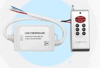 IP67 Waterproof LED RGB RF controller;DC12-24V input;4A*3CH output