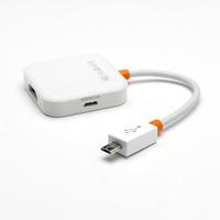 10pcs/Lot White Slimport MyDP to HDMI HDTV AV Adapter Cable for LG G3/2 Nexus 5/4 Optimus G Pro
