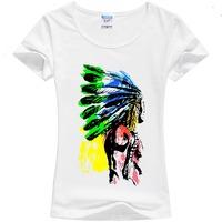 Free shipping 2014 brand new summer women's fashion cotton short-sleeve T-shirt o-neck women tops $ tees 100% cotton plus size