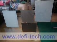 20cm*29cm Rear projection film Samples for each color: Transparent or Dark gre, gray, white, black, mirror