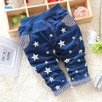 4pc/lot baby winter pants padded kids Corduroy pants boys thicken stars children trousers wholesale PANYA DYF25