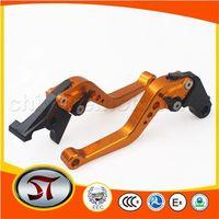 CNC Clutch and Brake lever handle bar for CB400 VTEC 02-08 CBR600 RR F2 F3 F4 91-07 Golden+ hot sale free shipping excellent qua
