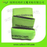 Free Shipping 50X480mm Alpine velcro ski straps with 1 color custom logo