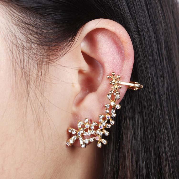 2018 Korean Brand Design Women\'S Quality Elegant Moon Star Earring ...