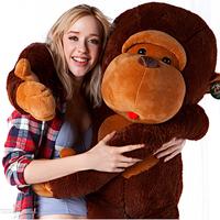 Giant plush monkey children Stuffed plush animal toy cute Pillow dolls Christmas birthday gift