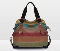 2014 new arrive famous brand women canvas handbags shoulder Messenger Bag cool lady pouch