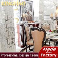 [KINGHAO] 2014 new bissazza design Labirinto Oro Bianco premium silver glass mosaics tile