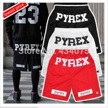 Di marca a buon mercato stile 2014 pyrex pantaloncini per gli uomini sciolto Harajuku sottile pantaloni corti caldo hip hop per strada nero bab053-01 nave di goccia(China (Mainland))