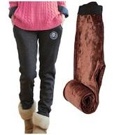 New Winter Thicken Plush Women Sport Pants Loose Casual Pants Women Pants Sweatpants Harem Pants Free Shipping 25