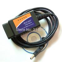 ELM327 USB ELM 327 OBD2 / OBDII V1.5 Auto Diagnostic Interface Scanner Code Reader FREE SHIPPING