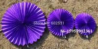 20pcs/lot 4 size tissue PAPER fan Paper umbrella Wedding party decoration  wedding arrangement fan paper flowers balls