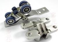 Folding door hanging wheel/move the door pulley bearing 80 kg for folding sliding door