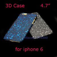 """3D Starry Sky Starfall Snow Dots Ultra Thin Cover for iphone 6 4.7inch Star Art Case for iphone6 4.7"""""""