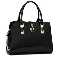 2014 fashion crocodile pattern women's handbag alligator wedding party tote shoulder bag brand designer Bridal messenger bag