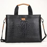 Hot seller!2014 Vintage Men genuine leather handbags cowhide leather briefcase business men messenger bags laptop bag 2012-28