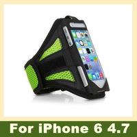 2pcs Sports Armband Pouch Case Gym Jogging Running Mesh Arm Bands Cell Phone Cover for iPhone 6