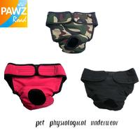 Free Shipping Pet Dog Menstruation Underwear New Female Pet Cute Pant Short Diaper 3 Colors