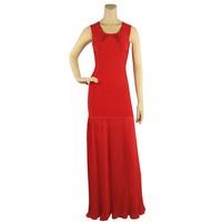 Free Shipping 2013 New Women's Red & White tassel spaghetti strap Celebrity Bandage dress HL floor length evening party Dresses
