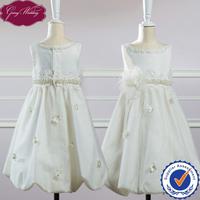Goingwedding Tank Sleeveless Flower Girl Dress With Beaded Belt And Flower Details The Most Beautiful Flower Girl Dresses HT046