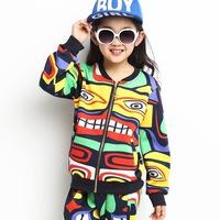 Meninas Vestir Direct Selling Kids 2014 Spring And Autumn Clothing of New Indian Maya Set A Baby Boom Children Haren Pants Suit