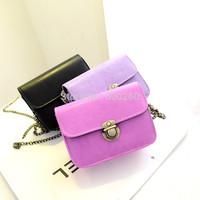 2014 New Fashion Handbags Cross Body Leather Bag Mini Shoulder Bag Chain Vintage Women's Bag hot Designer Handbag FREE SHIPPING