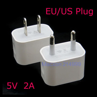 """5V 2A Wall Charger EU US AC Travel USB Charger Adapter for iPhone 6 4.75.5"""" 5S new 6 plus Mobile Wall Charger"""