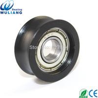 Hot sale 698zz Bearing Roller 8x24.5x10.5mm door and window roller  U groove Sliding rollers