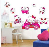 New Arrival Children's room kawaii cartoon animal design Wall Sticker,decoration stickers,wholesale(tt-2002)