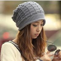 Korean winter hat wool hat knitted hat piles Women Men hedging cap wholesale