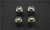 4PCS Car Tire wheel Valve stems caps For Chevrolet Cruze Aveo Sail Spark all Model Free Shipping