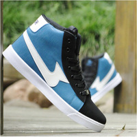 2014 Autumn winter new designs Fashion high sneakers for men British sports casual shoes boy skate shoes free shipping