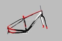 Dengfu 2015 carbon fat bicycle frame, 26er mountain bike, carbon sand bike frame FM190 size 17.5''