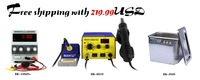 Free shipping for BAKU TOOLS set  BK-3550 ultrasonic Cleaner and BK -601D rework station 1502D+ Power supply