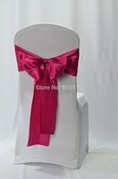 fuchsia wedding chair sash, 18*275 cm, 100 pieces per lot