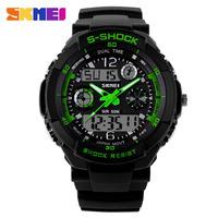 SKMEI Brand Men Waterproof Sports Watches Military Quartz Casual Wrist Watch Digital Fashion LED Wristwatches Luxury Clock 5PCS