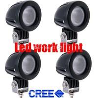 4X 10W Cree LED Work Light Spot Lamp Driving Fog 12V 24V Car 4x4 Motorcycle Boat ATV