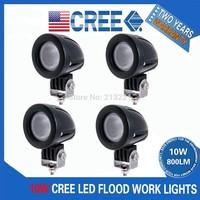 4PCS 18W LED WORK LIGHT BAR FLOOD DRIVING OFFROAD FOG 4WD LAMP 10W