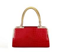 New Fashion Bolsas Femininas Women Alligator Crocodile PU Leather Handbags Candy Zipper Bags Lady Chain Shoulder Messenger Tote