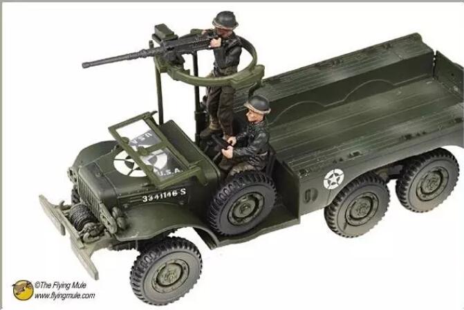 FOV 81018 U.S. World War II military trucks American 1:32 model of Dodge WC63 6x6(China (Mainland))