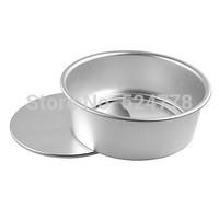 Cake Pan, 8 inch Aluminum Round Cake Hoop alloy cake mold
