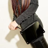 FREE SHIPPING Single shoulder aslant mirror purse mirror Mobile phone bag women's handbag style knitted shoulder bag