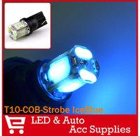 2X T10 LED 194 168 W5W COB Bulb Light Reverse Backup Turn Signal Brake Lamps Steady & Strobe 2 Modes 24SMD 12V