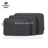 2015 Gearmax Black Laptop Case For Macbook Waterproof Laptop Notebook Case 11 13 14 15 inch Laptop Lenovo Case For Macbook Pro