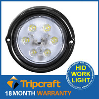 Wholesale 6000k 1530lm aluminum housing high intensity chip 18w led driving work light TC-NQ18C-18