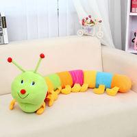 Popular New Colorful Inchworm Soft Lovely Developmental Child Baby Toy Doll Toy