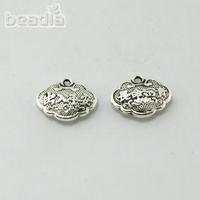 Locket floating charms 11X14MM 50PCS/Lot Tibetan silver charm for pendant jewelry CN-ZN-47712,Yiwu