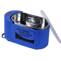 Brand New 1Pcs Blue 220V 35W / 60W Cleaning Machine LT-05C Ultrasonic Cleaner For Jewelry Glasses Watch Free Shipping